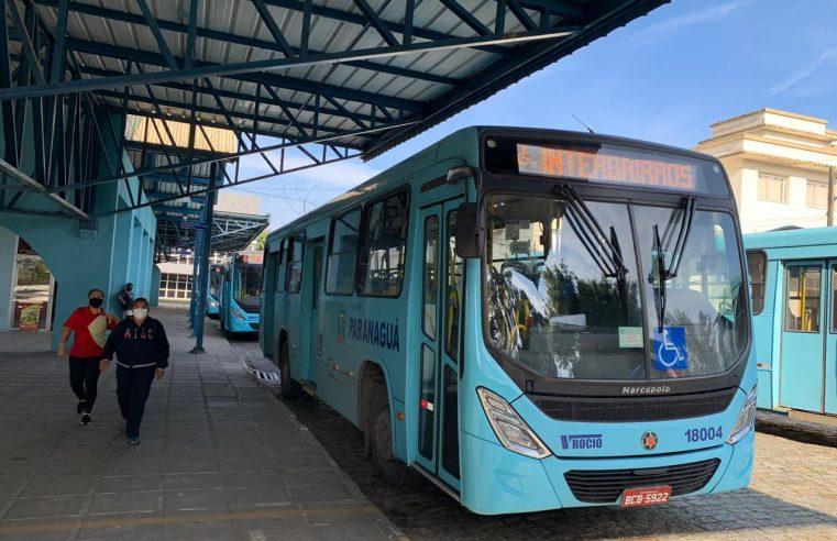 Decreto restringe número de passageiros dentro dos ônibus do Transporte Coletivo de Paranaguá
