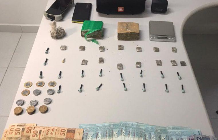 Casal é preso por suspeita de tráfico de drogas em Paranaguá