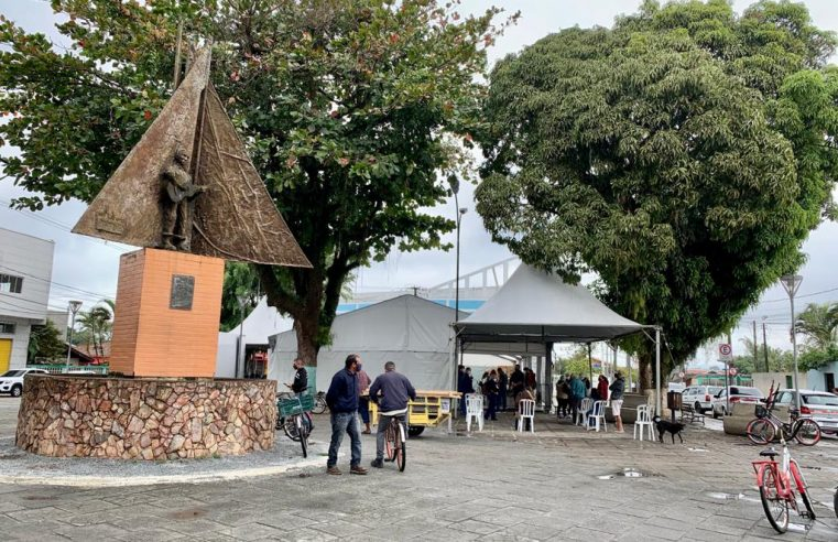 Prefeitura de Paranaguá entrega Ivermectina na Ilha dos Valadares