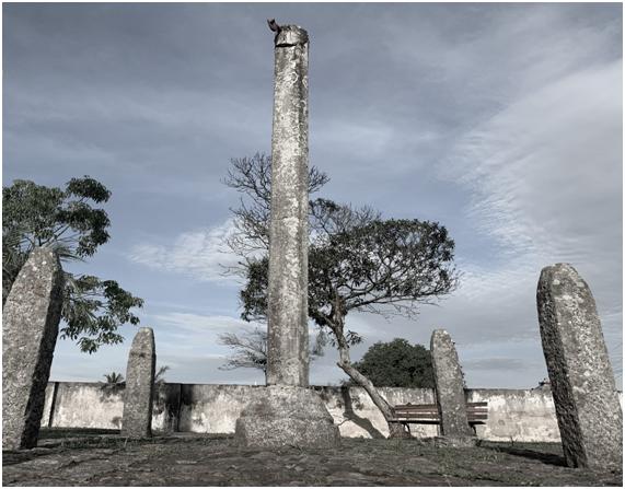 O monumento da dor já foi local de castigo para quem cometia delitos