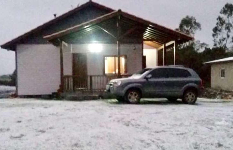 Cidades da região Sul têm temperaturas abaixo de zero e neve