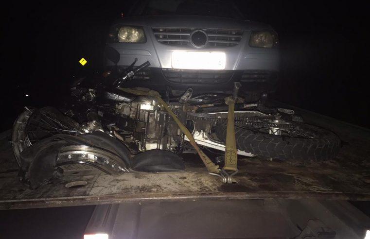 Acidente envolvendo 4 veículos na BR-277 deixa uma pessoa ferida