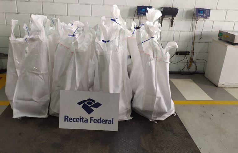 Receita Federal apreende 192kg de cocaína no Porto de Santos