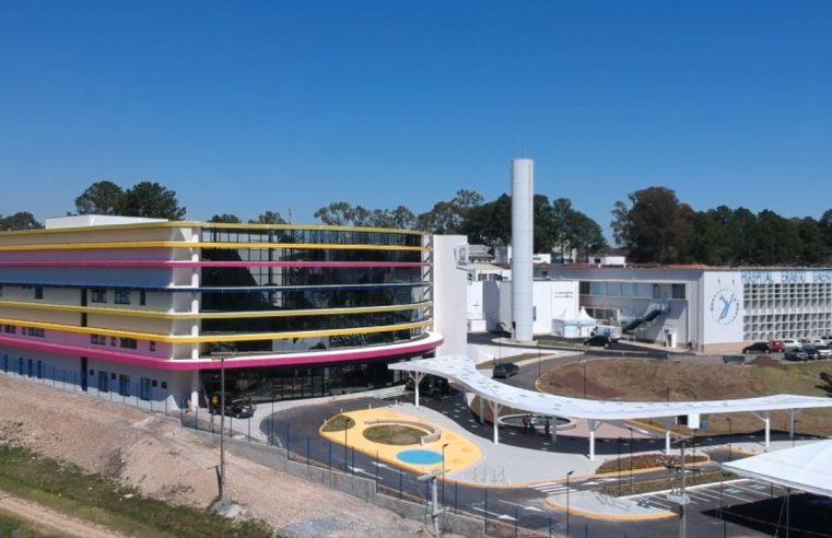 Erastinho é primeiro hospital especializado em oncopediatria do Sul do país