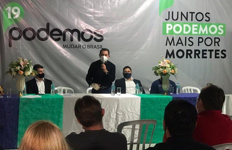PODEMOS confirma candidato a prefeito e vereadores em Morretes