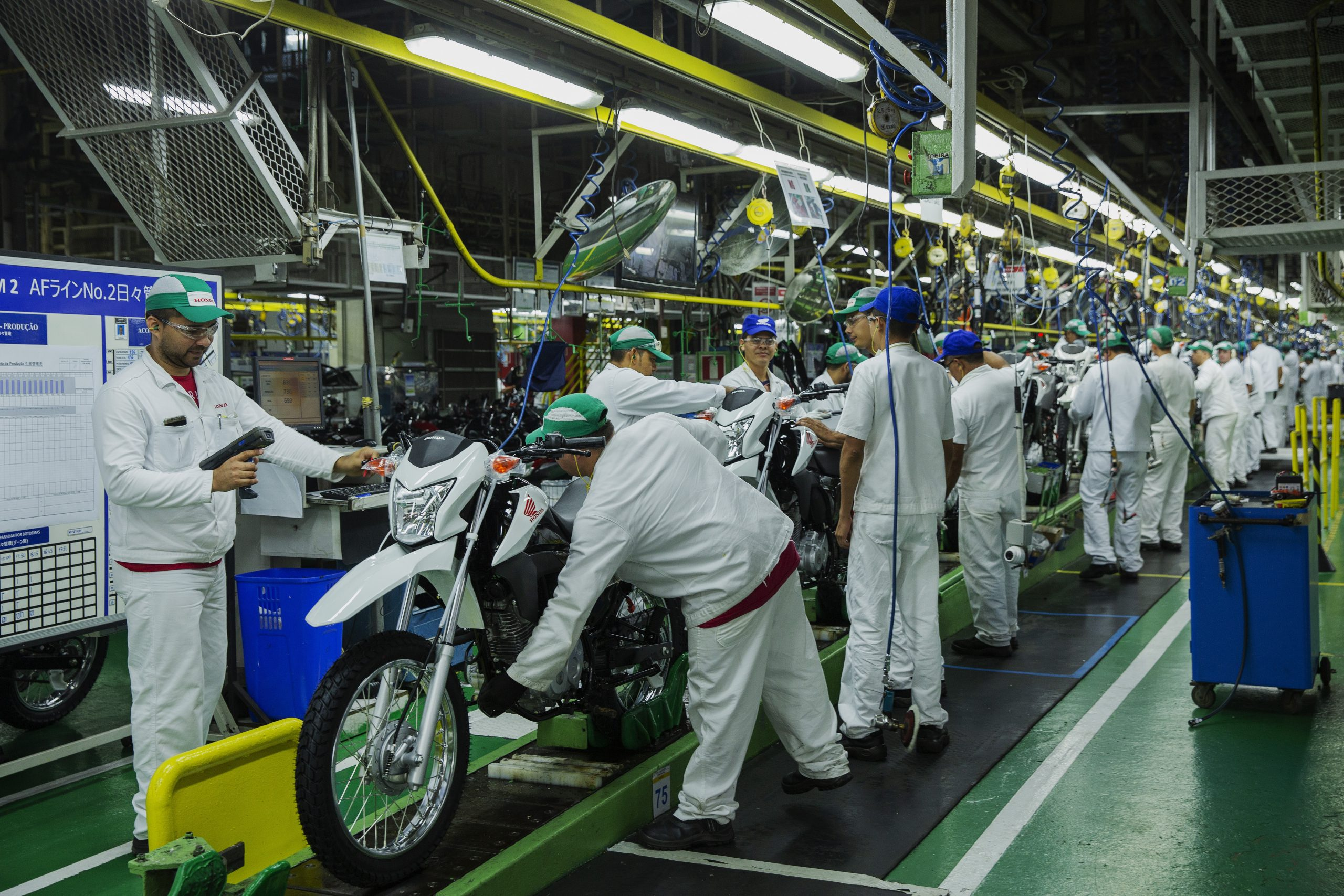 Produção industrial se recupera em 6 estados