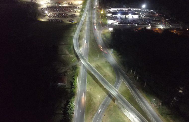 Viaduto Nelson Buffara tem fiação elétrica roubada pela terceira vez