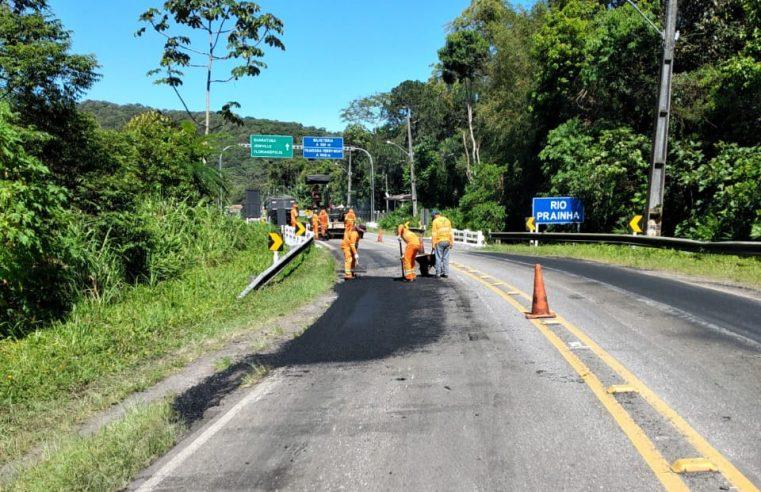 Rodovia do Litoral terá serviços de conservação na próxima semana