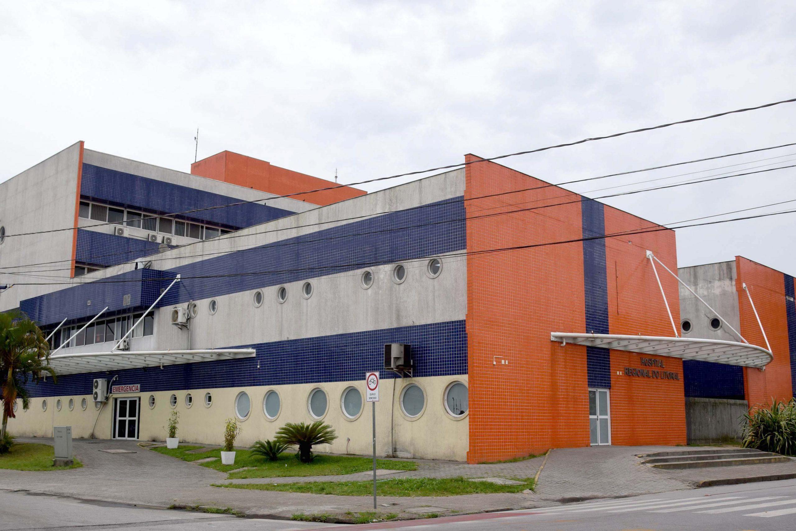 Pelo segundo dia, Hospital Regional do Litoral não registra novos óbitos por COVID-19