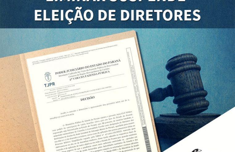 Liminar suspende eleição de diretores dos colégios estaduais