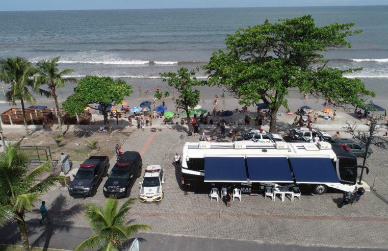 Polícia Civil do Paraná mantém Delegacia Móvel em Guaratuba até este domingo