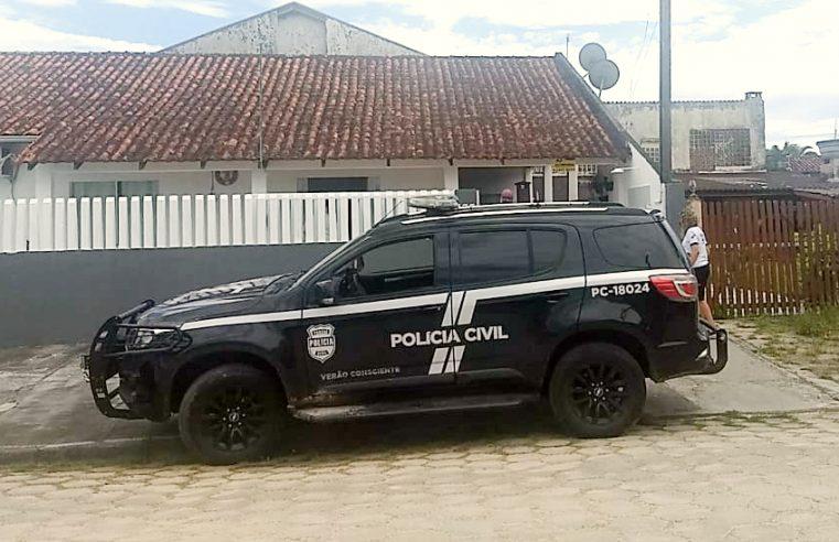 PCPR prende suspeito de ameaçar familiares com arma de fogo em Pontal do Paraná