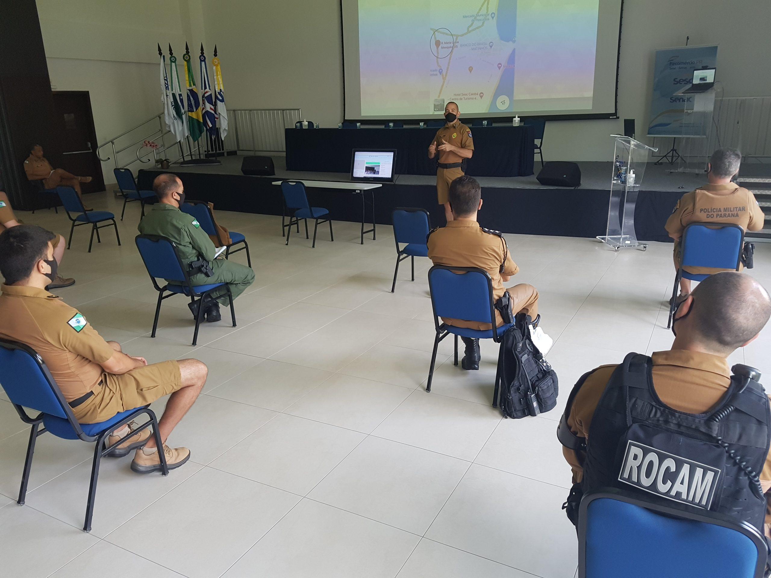 Polícia Militar faz reunião para alinhar ações e apresentar balanço do Verão Consciente 2020/2021 na Costa Leste