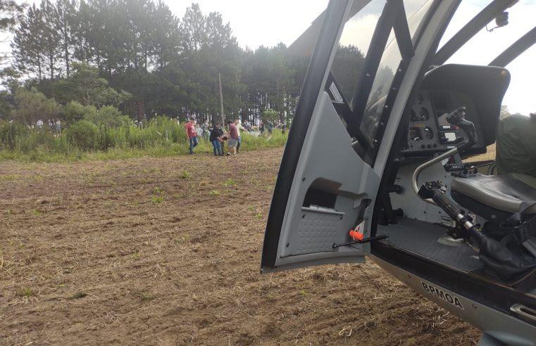 BPMOA socorre homem que caiu da Pedra da Baleia em Matinhos e vítima de acidente de trânsito em Palmeiras