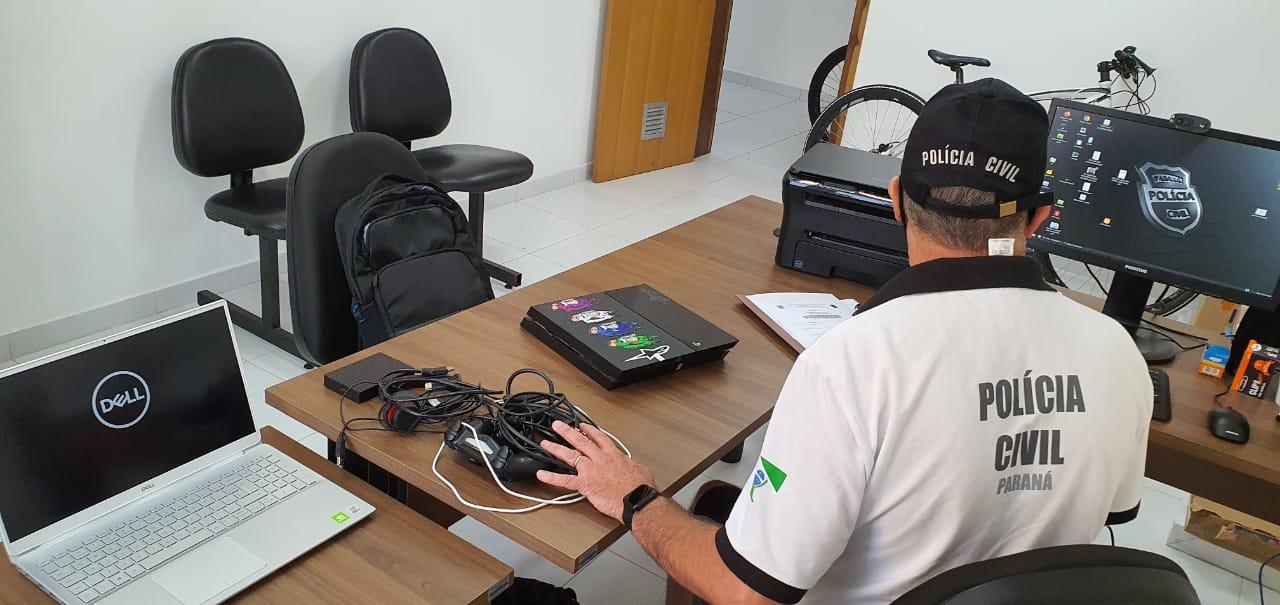 PCPR recupera objetos furtados de sobrado em Caiobá