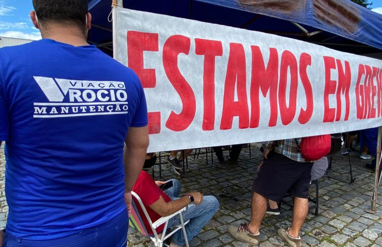 Funcionários da Viação Rocio paralisam 100% dos serviços em Paranaguá