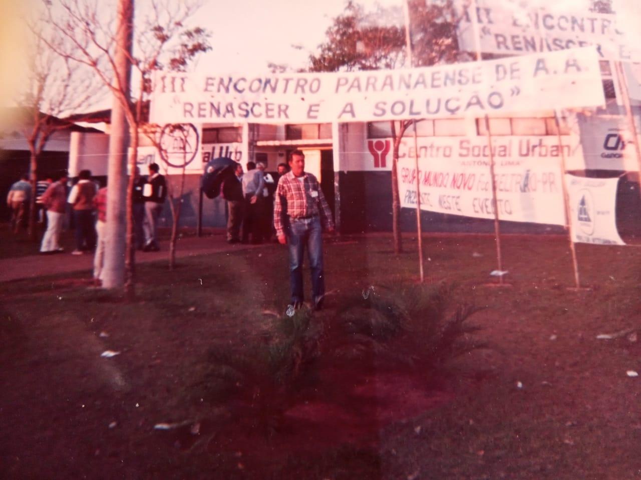 Morre um dos primeiros coordenadores do Alcoólicos Anônimos de Paranaguá