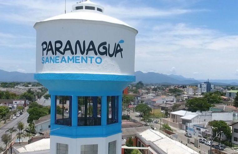 Paranaguá: vazamento em adutora provoca falta d'água na região de Alexandra