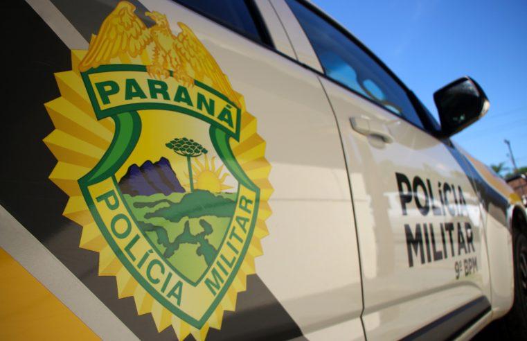 Carro furtado em São José dos Pinhais é recuperado pela PM em Matinhos