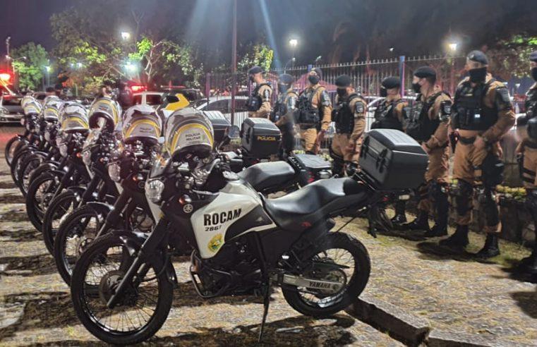 ROCAM aborda ponto de riciclagem usado para o tráfico de drogas em Pontal do Paraná; quatro são encaminhados