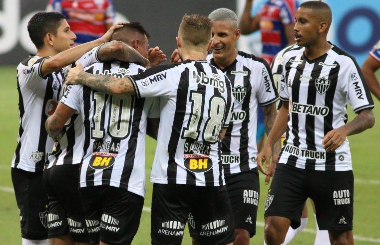 Atlético-MG bate o Fortaleza, passa o São Paulo e dorme na vice-liderança