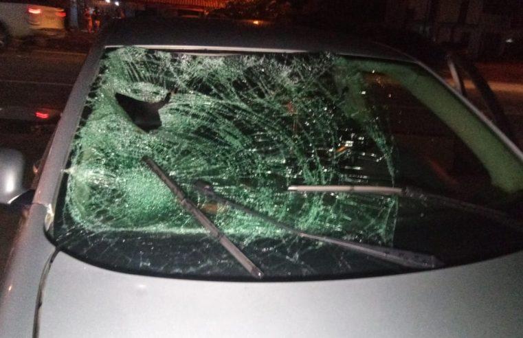 Atropelamento é registrado em Pontal do Paraná e não há ambulâncias para atendimento de emergência