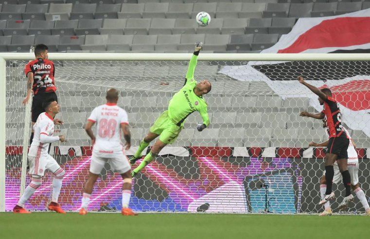 Líder Inter empata com Athletico-PR em Curitiba