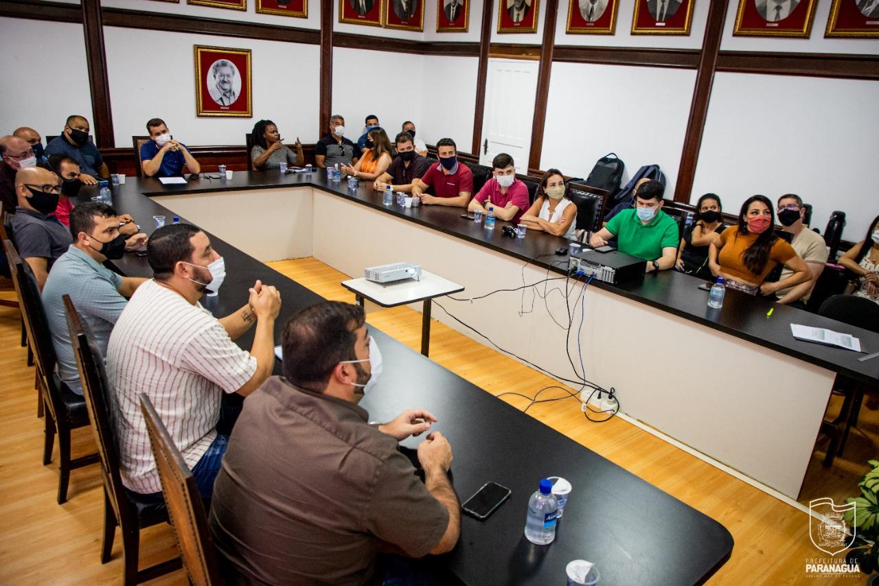 Resultado dos estudos técnicos sobre o transporte público coletivo de Paranaguá foi apresentado hoje (5), na prefeitura de Paranaguá