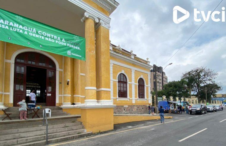AO VIVO: Acompanhe a movimentação para vacinação contra a Covid-19 no centro de Paranaguá
