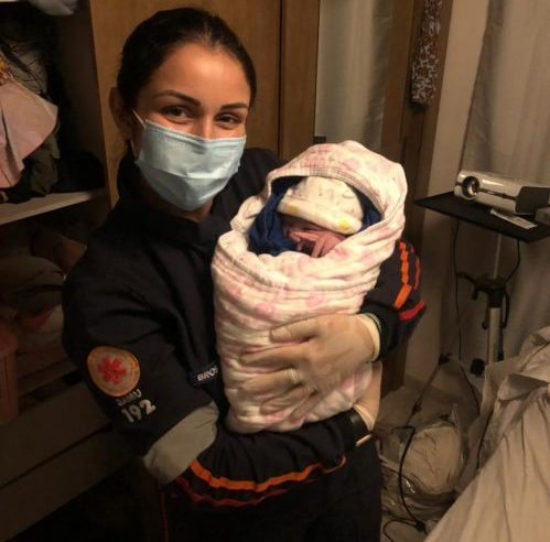 Antonina: Equipe do Samu realiza parto de emergência