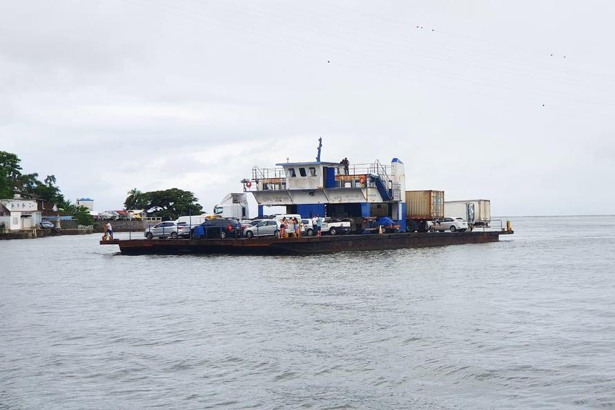 Confira os novos valores para a travessia na baía de Guaratuba pelo Ferry-boat