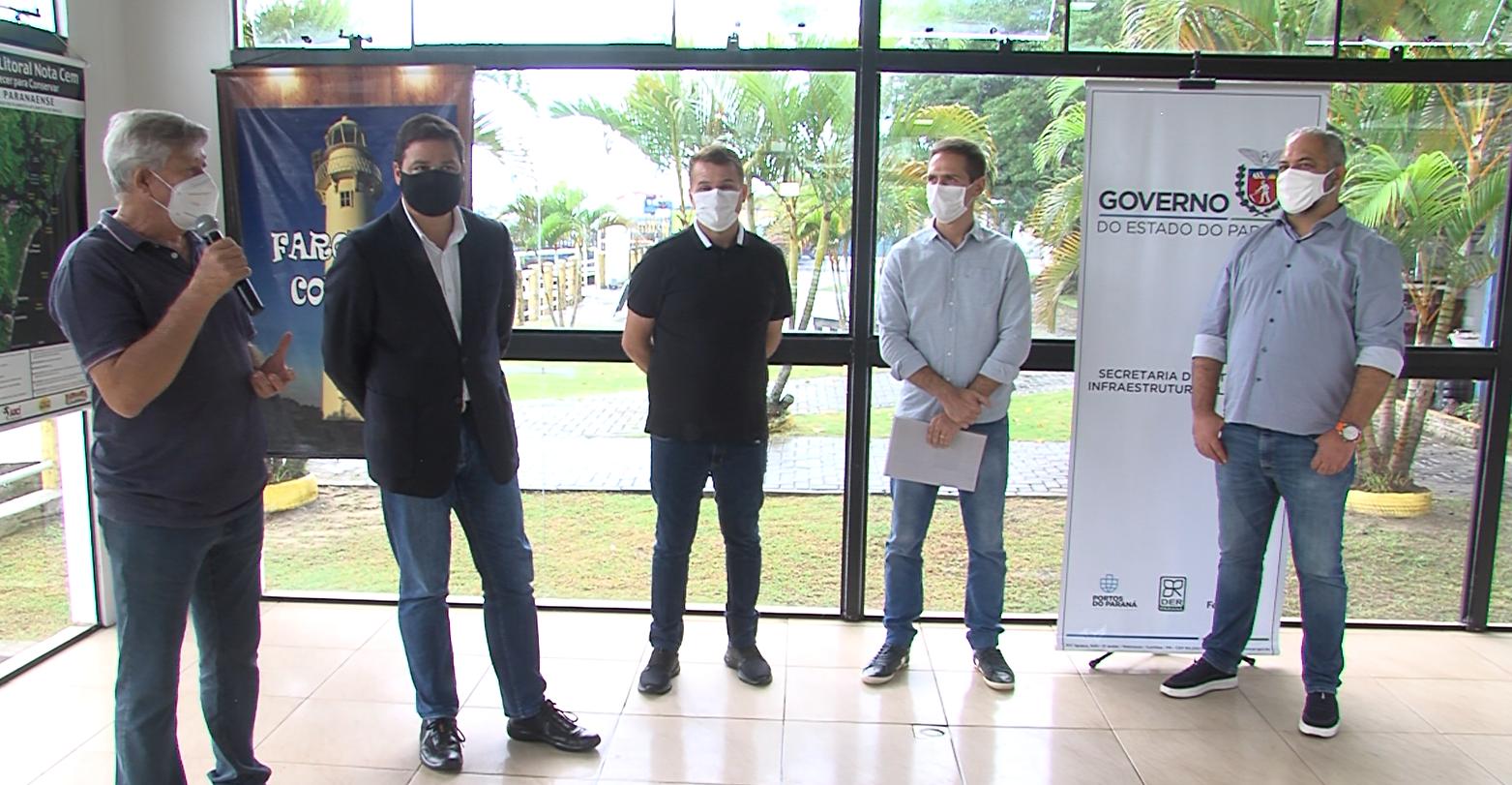 Paranaguá e Pontal do Paraná assinam convênio para gestão dos terminais aquaviários