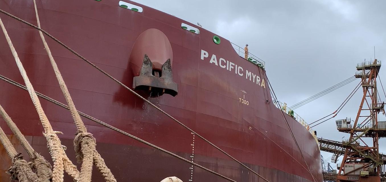 Registro histórico: Porto de Paranaguá realiza o maior carregamento de farelo de soja em um único navio