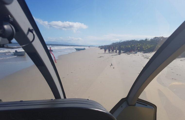 Naufrágio na baía de Guaraqueçaba: uma pessoa morre e quatro ficam feridas