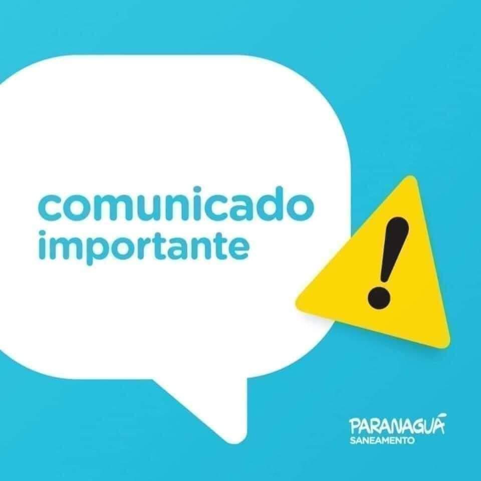 PARANAGUÁ SANEAMENTO: Abastecimento de água será normalizado em alguns bairros até às 14h de hoje (08)