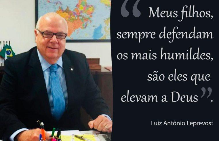 Faleceu Luiz Antônio Leprevost, o príncipe dos curitibanos humildes