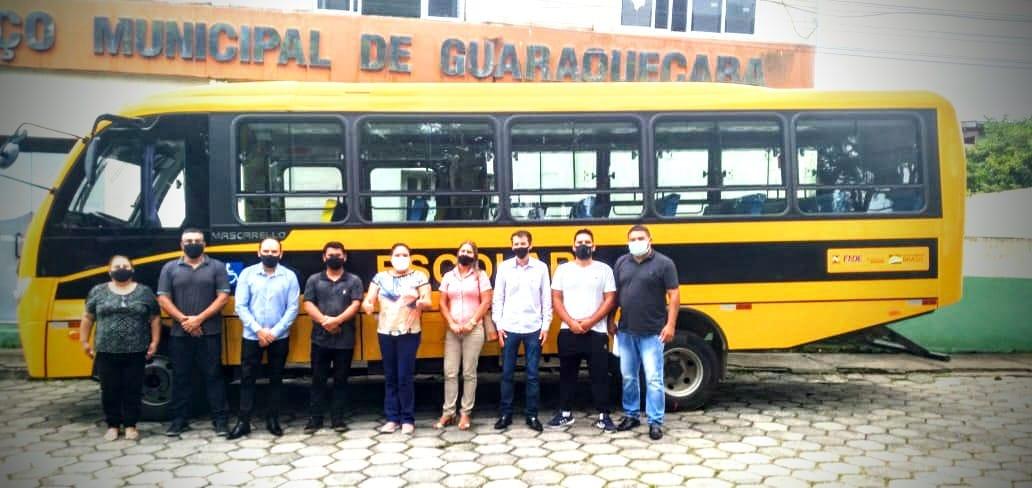 Guaraqueçaba recebe ônibus escolar 0km por meio de emenda parlamentar enviada pelo deputado federal Toninho Wandscheer (PROS)
