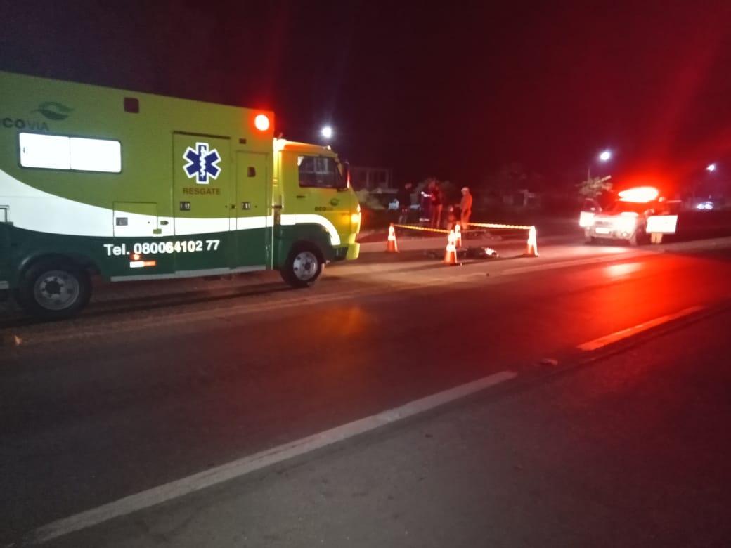 Ciclista morre atropelado por caminhão, em Paranaguá