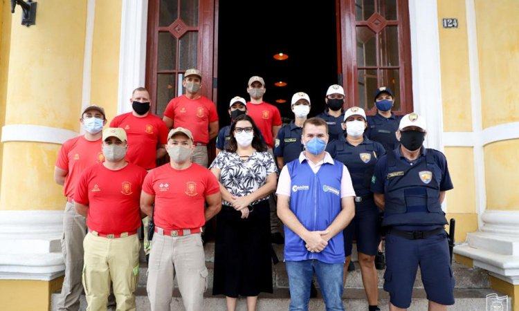 Covid-19: Forças de segurança são imunizadas em Paranaguá