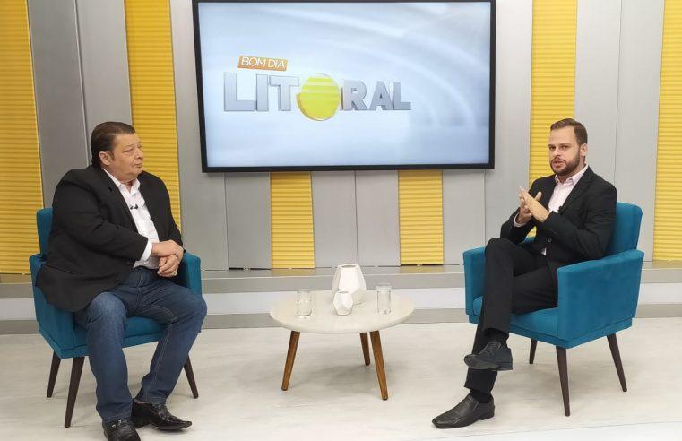 BDL: O apresentador do Voz do Litoral, Tony Lagos, participou de uma conversa com o Pierre Andrade, no Bom Dia Litoral de hoje; Assista!