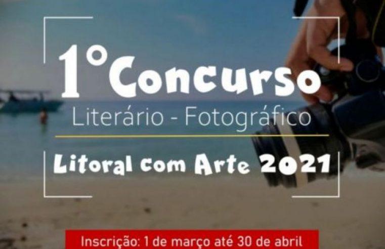 Prefeitura de Pontal do Paraná lança 1º Concurso Literário e Fotográfico Litoral com Arte
