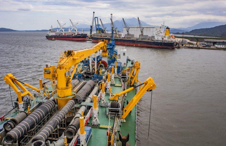 Navios com maior capacidade de carga já podem atracar no Porto de Antonina