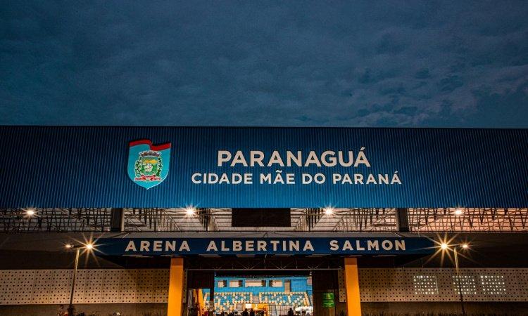 PARANAGUÁ: Arena Albertina Salmon atende casos suspeitos e confirmados de Covid-19 todos os dias até meia-noite