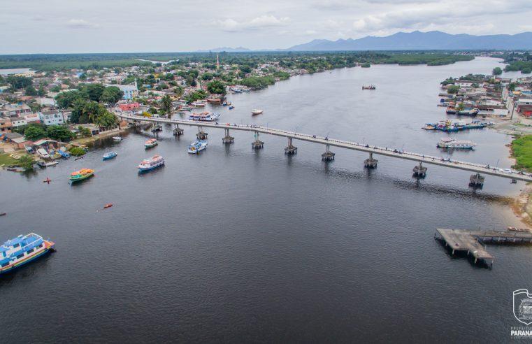 Ilha dos Valadares: prefeito assina ordem de serviço para estudo do alargamento da passarela