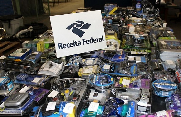 Receita Federal realiza quarto leilão regional de mercadorias apreendidas