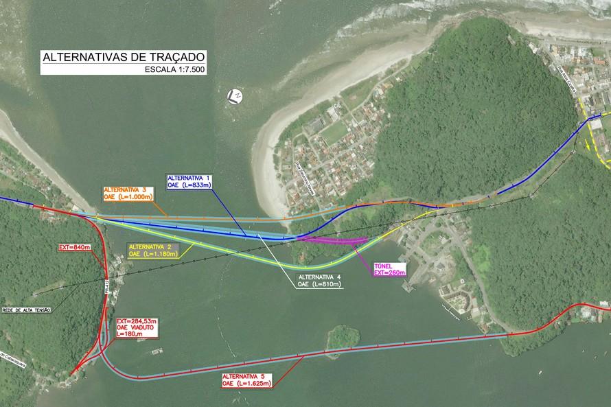 Homologado resultado da licitação dos estudos ambientais da Ponte de Guaratuba