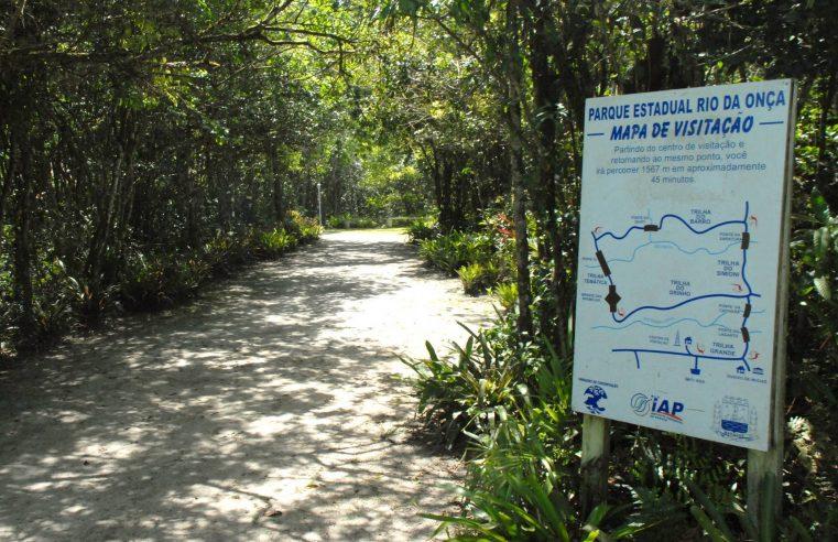 Parques Estaduais estarão fechados durante feriados e domingos