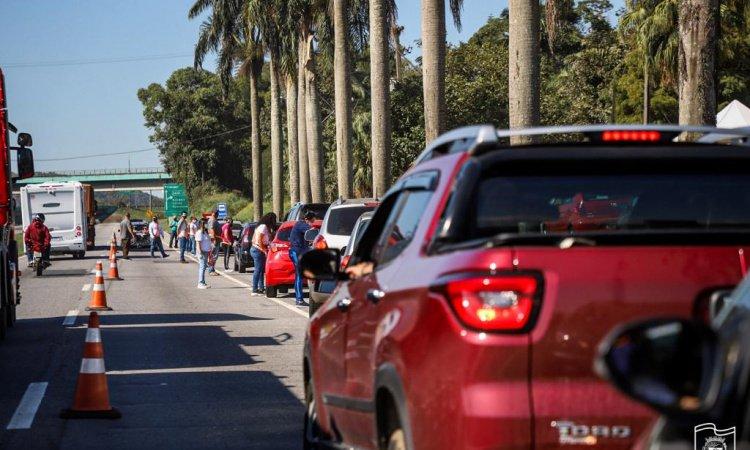 Barreira Sanitária abordou mais de 19 mil veículos no feriadão de Corpus Christi