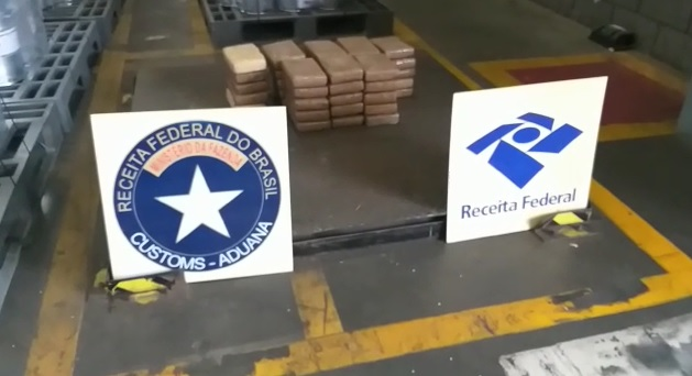 Receita Federal apreende 475 KG de cocaína no Porto de Paranaguá