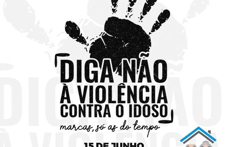 "Junho Violeta: Lar dos Idosos Perseverança realiza Campanha ""Marcas, só as do tempo"""